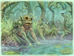 Froggy by K-Bladin