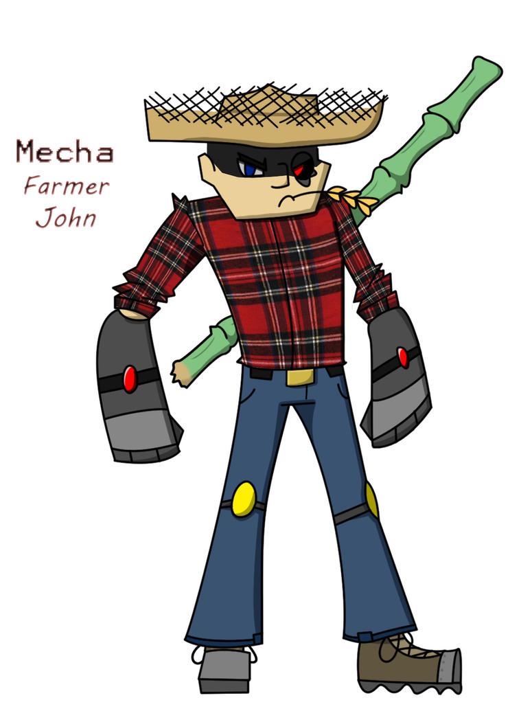 Mecha Farmer John by PhilipNapkinI