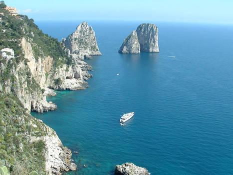 Faraglioni a Capri