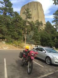 Devils Tower (closer) - Black Hills 2015