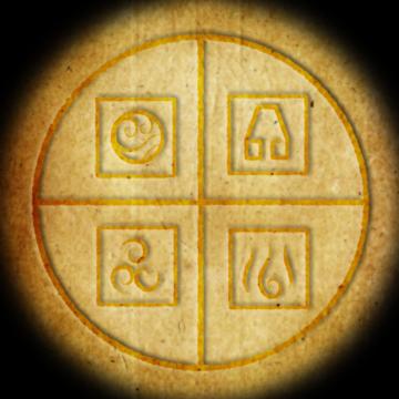 symbols of four elements
