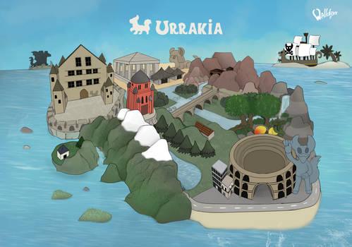 Urrakia Map