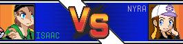 Poke'mon: Isaac vs Nyra by Imaginary-sama