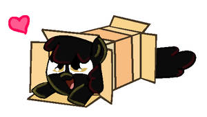 Creepybloom Sliding Into A Box