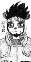 Claw cosplay de sarutobi asuma