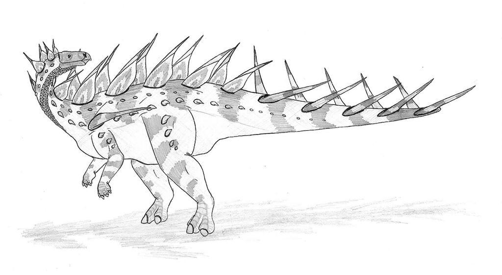 kentrosaurus coloring pages - photo#18