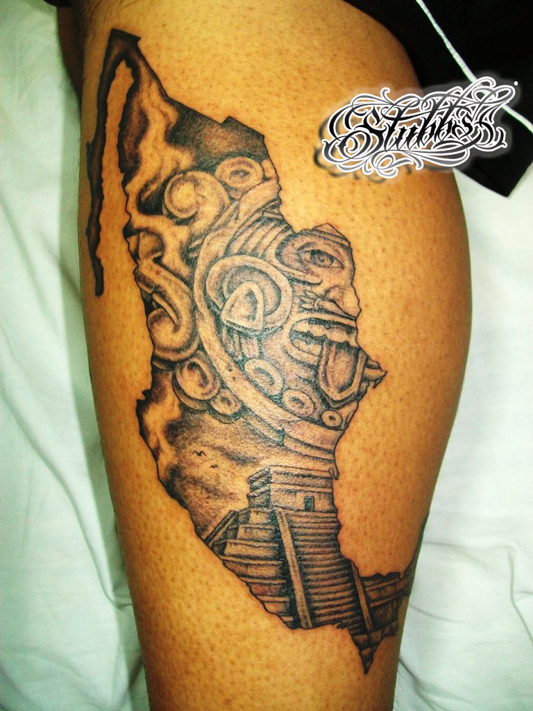 Mexico tattoo by misterstubbs on deviantart for Mexican pride tattoos