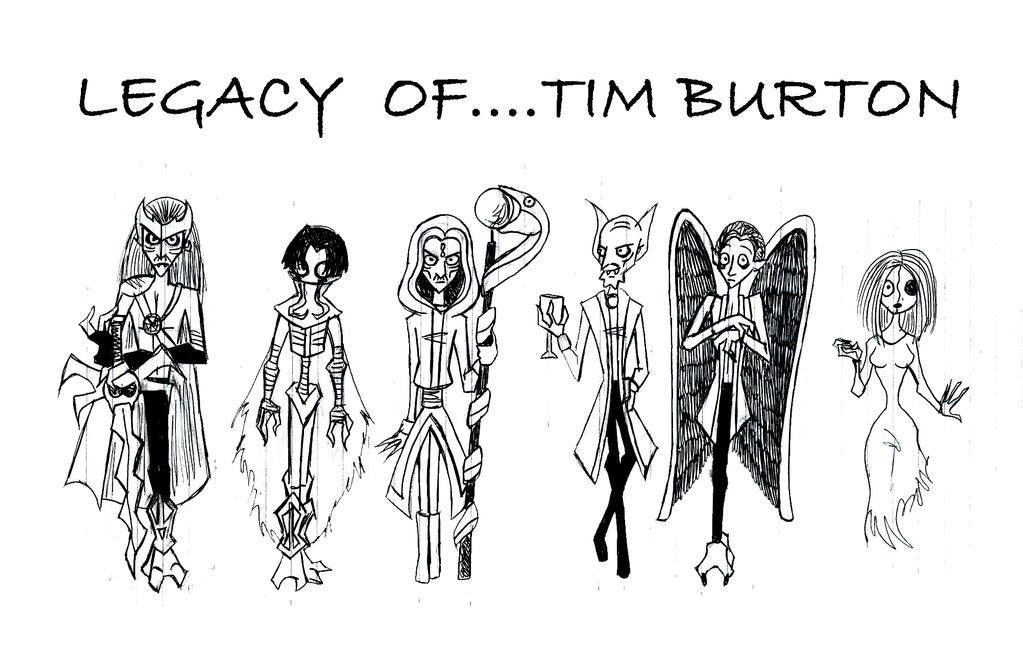 tim burton by klessidra
