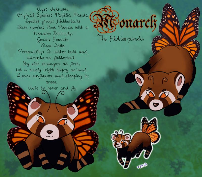 Meet Monarch by SainteCiel