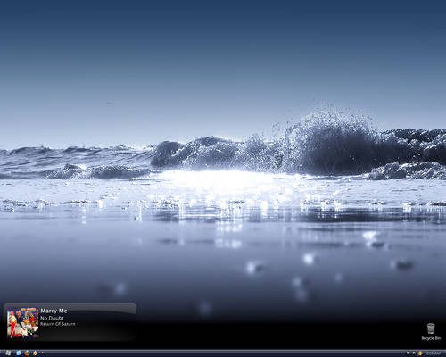 Cold Wave Desktop