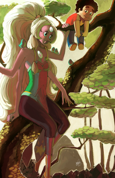 The Giant Woman in the Trees