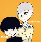 Mob and Saitama