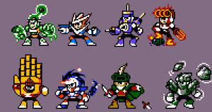 Mega Man Nemesis Robot Master Roster---V2.
