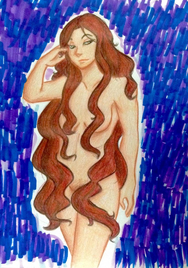 Godiva hair by DahliaFay