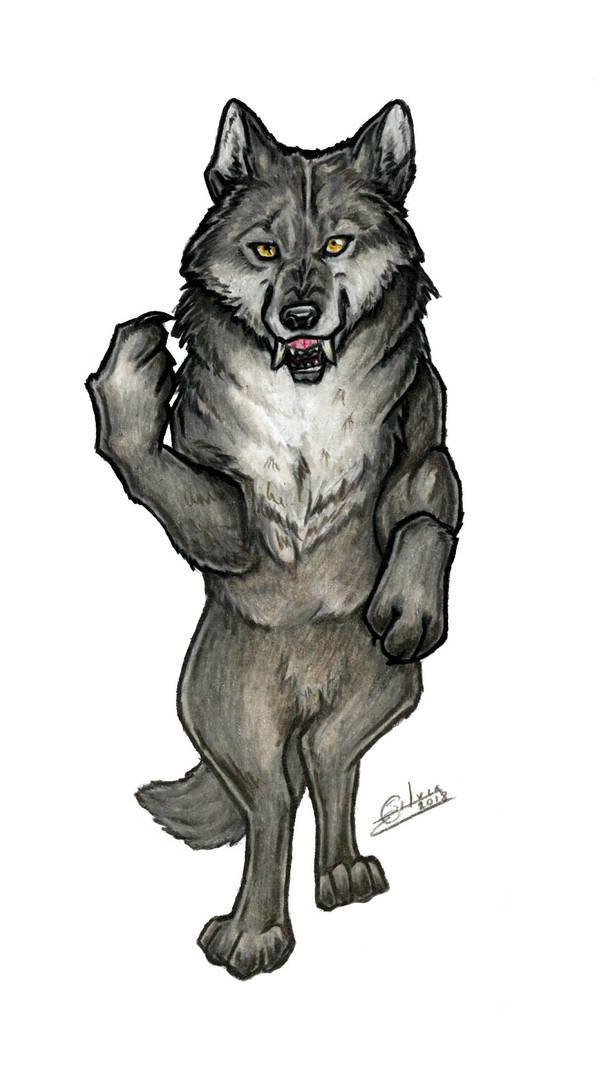 Big bad wolf by CrescentMoon