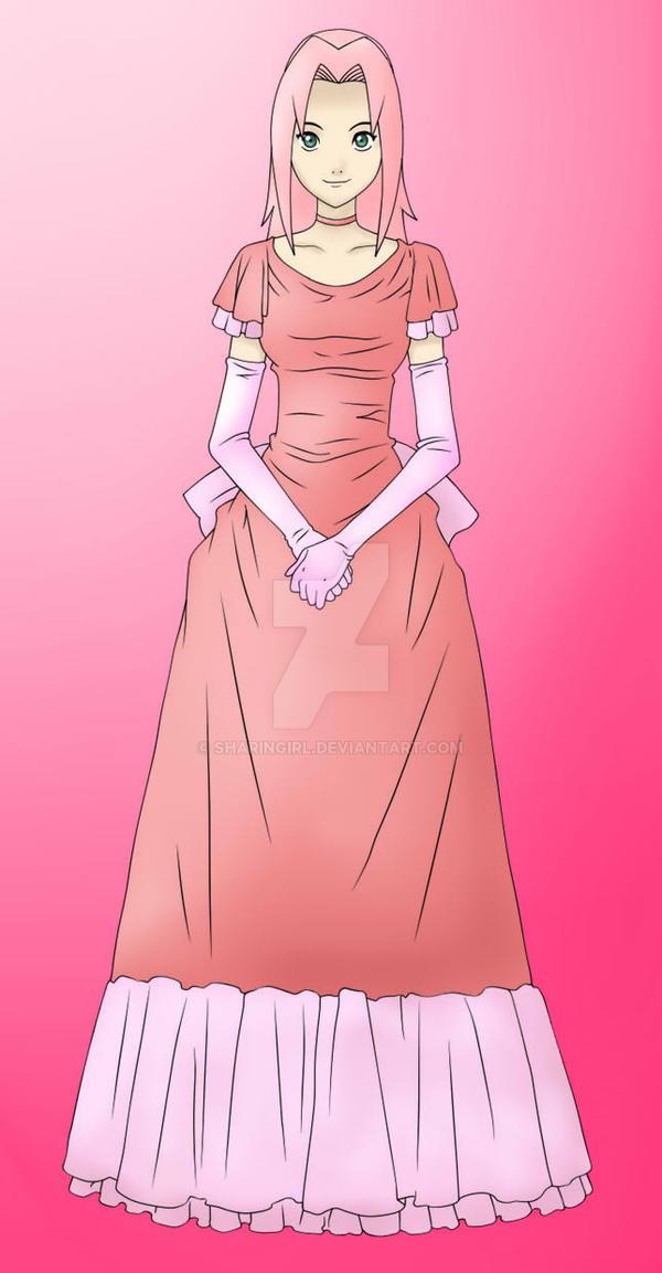 Sakura Haruno - Kuroshitsuji by Sharingirl