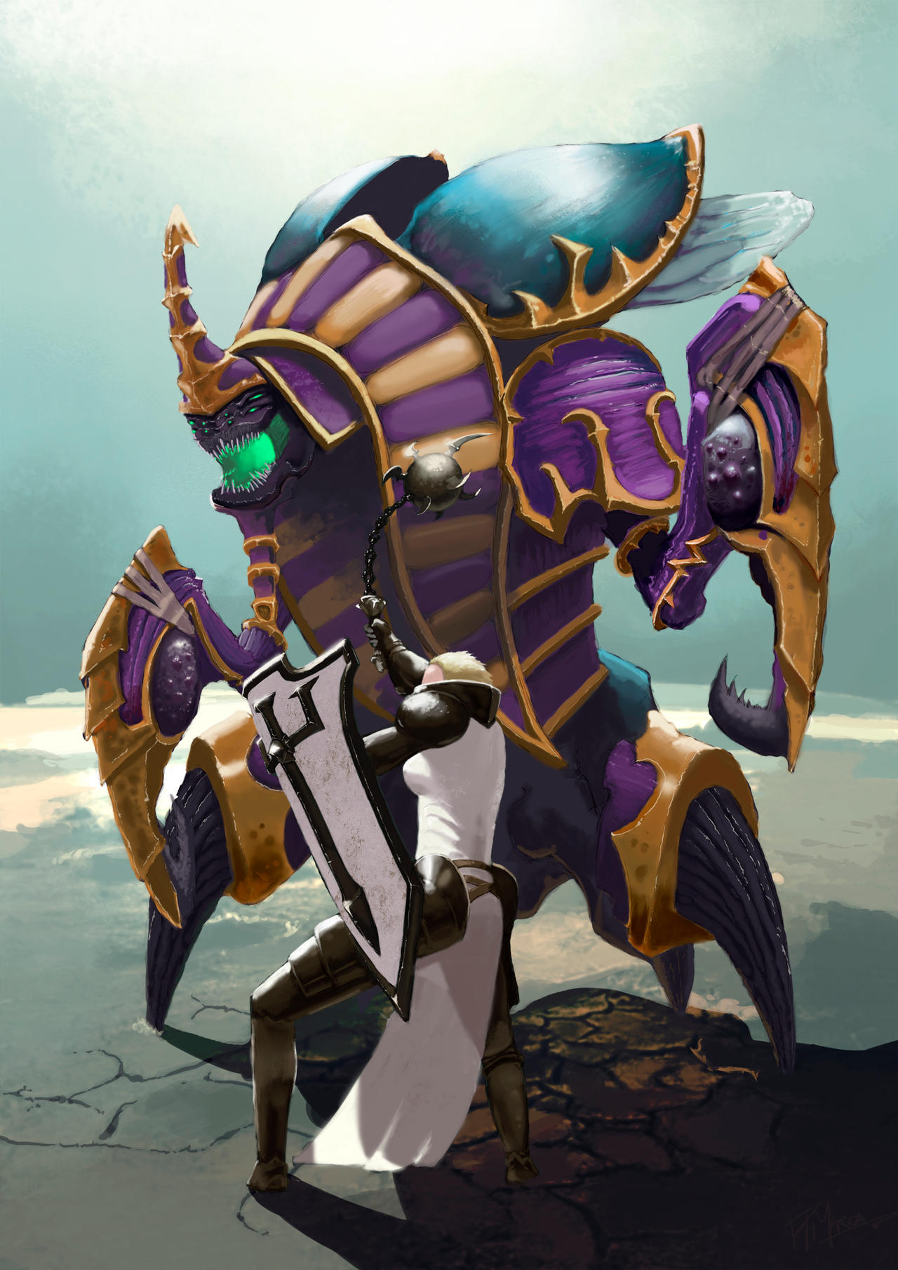 Heroes Of The Storm Johanna Vs Anub Arak By Fueradellimite On Deviantart Welcome to our guide for anub'arak, a tank in heroes of the storm. deviantart