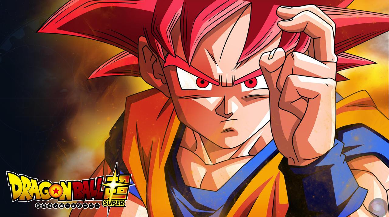 Wonderful Wallpaper Naruto Dbz - dbs___goku_ssj_god___wallpaper_by_shimomt-d98aw41  Pictures_842690.jpg