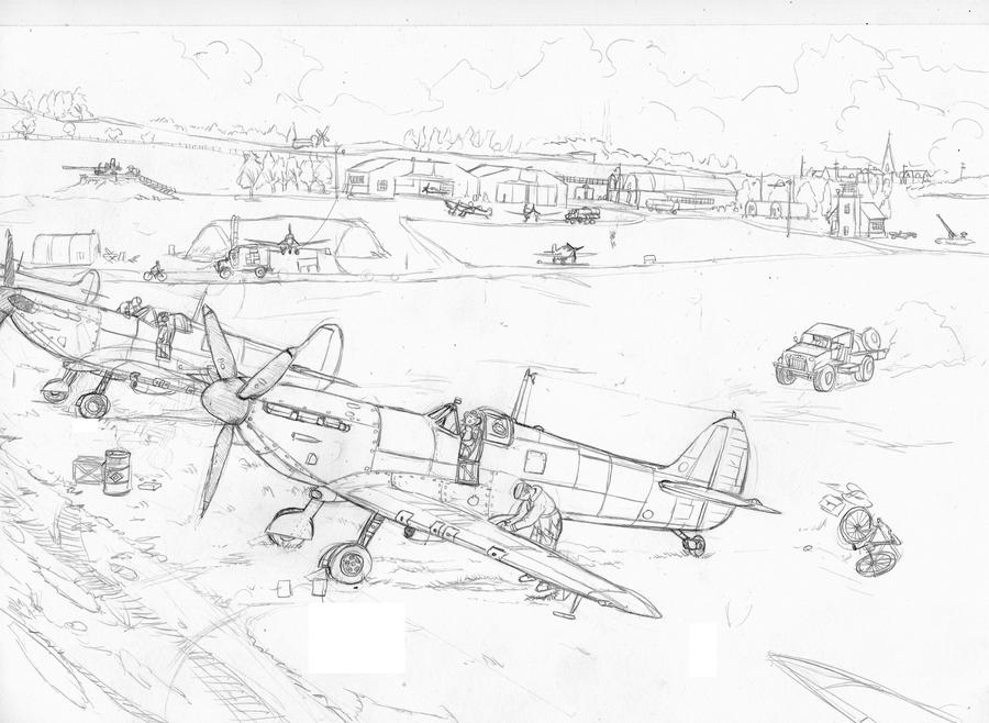 Headwall Drawings Available also Spitfire In Alert 269244670 further S les together with 80751 additionally Technical Drawing Jet Sketches. on technical drawing