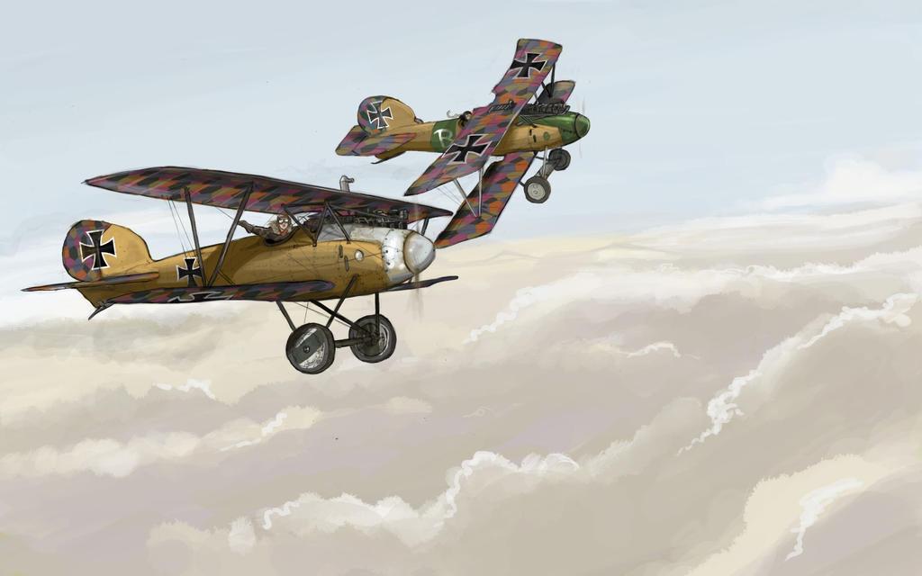Albatros V wwI by Bidass
