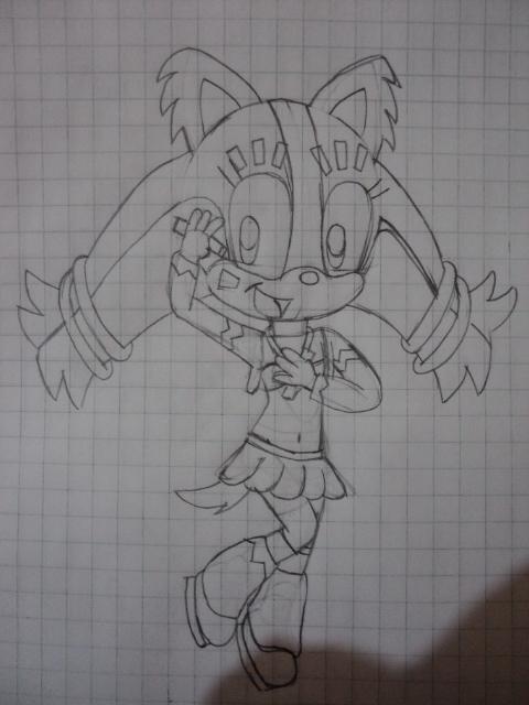 Sticks the Badger Sketch 3 by marvincmf