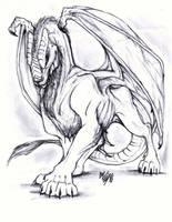 Lion Dragon by EllisonPav