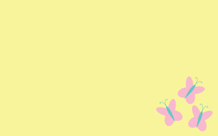 Wallpaper - Simple Fluttershy by ooklah