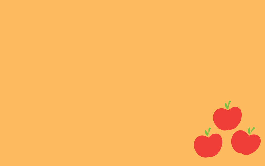 Wallpaper - Simple Applejack by ooklah