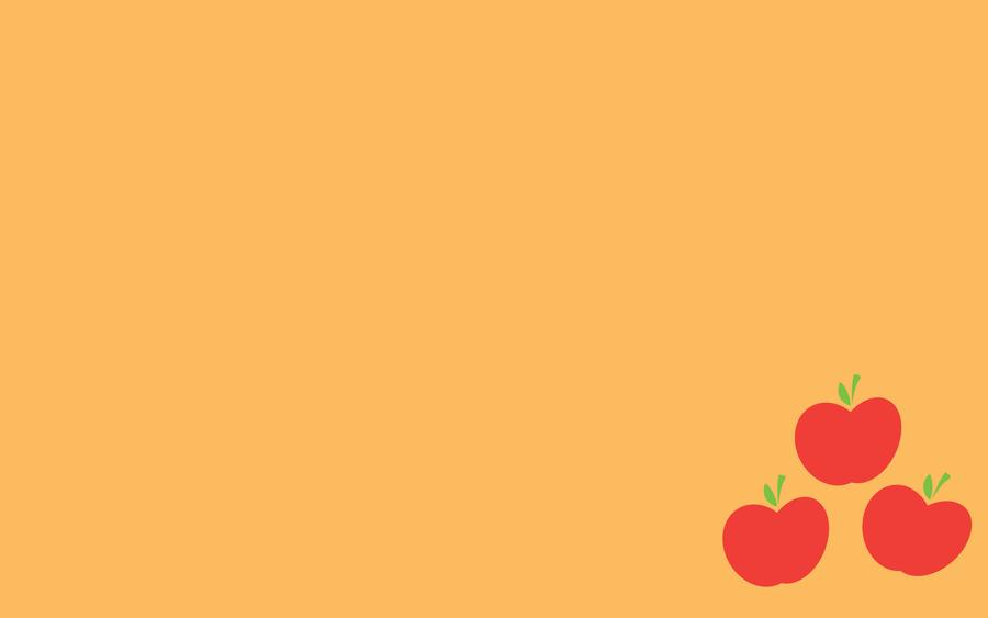 Wallpaper - Simple Applejack by ooklah