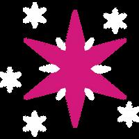 Cutie Mark - Twilight Sparkle by ooklah