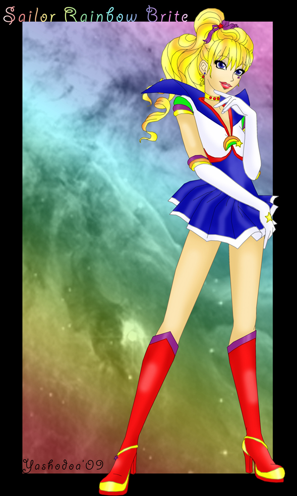 Sailor Rainbow Brite by yashodoa