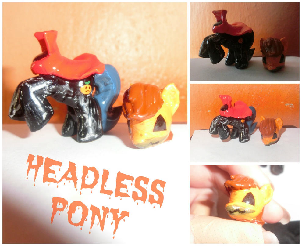 My little pony - Halloween Headless by SoulEevee99