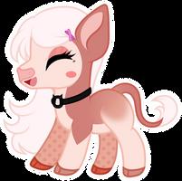 Chibi happy cow - Claire
