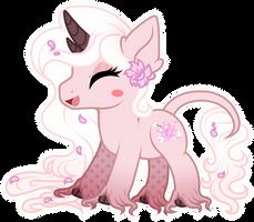 Chibi happy pony - Weary Blossom