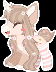 Chibi happy pony - Honey Crepe