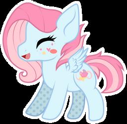 Chibi happy pony - KittenBreeze