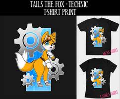 T-Shirt: Tails the Fox - Technic