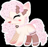 Chibi happy pony - Lulu