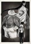 Film Noir Trio by ThePurpleHooligan
