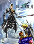 Sephiroth, Cloud, Aeris