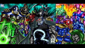 Villains -DC and Marvel