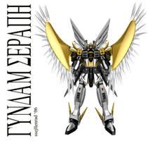 Gundam Seraph by ssejllenrad2