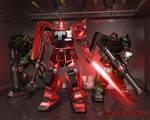 Zaku Red Comet Unit