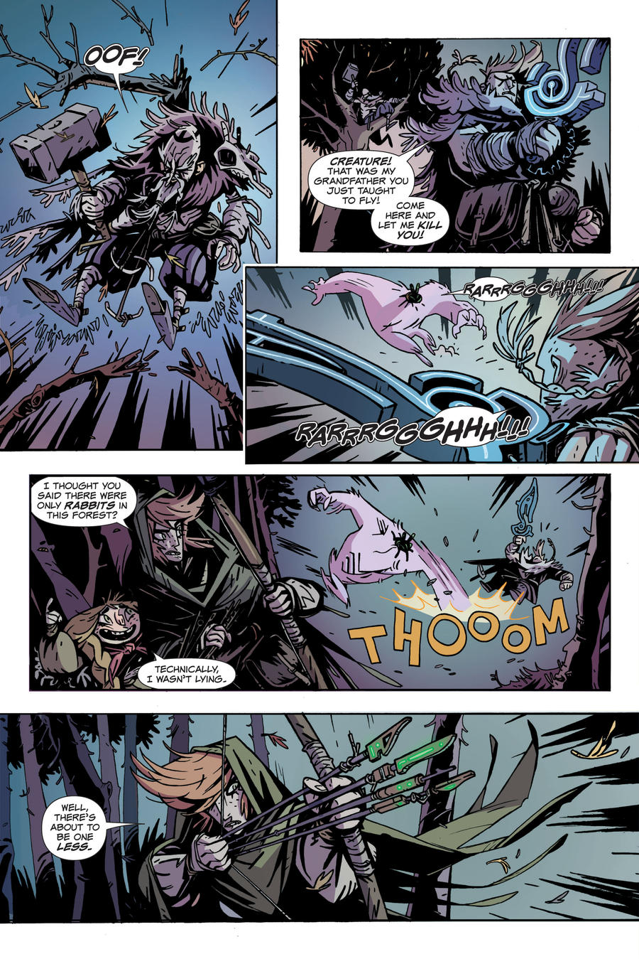 The Spider King page