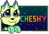 Chesh stamp by EmilyxPeppy
