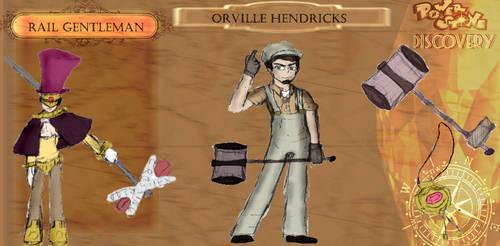 Power Stone Discovery: Orville Hendricks