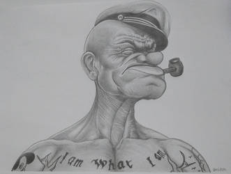 Popeye by costage