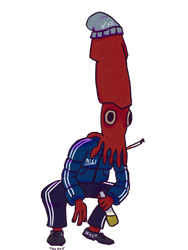 Gopnik Squid by CheburackRUS