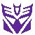 F2U Decepticon- Normal with White Border by VixessRin