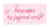 F2U Requests Journal Only Stamp by VixessRin